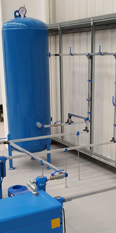 compressed air pipework surrey